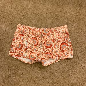 Patterned Tory Burch Shorts